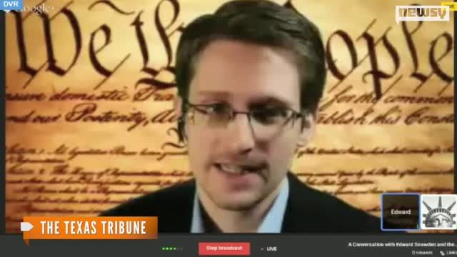 News video: How Snowden Reached Out To SXSW's Tech Crowd