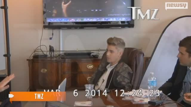 News video: Justin Bieber's Deposition Video: Just Watch It.