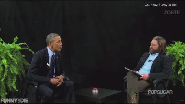 News video: Watch President Obama School Zach Galifianakis