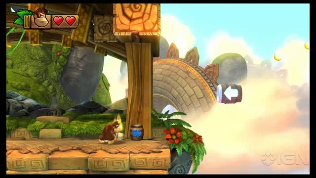 News video: Donkey Kong Country: Tropical Freeze Guide - Collectibles: Stage 7-1