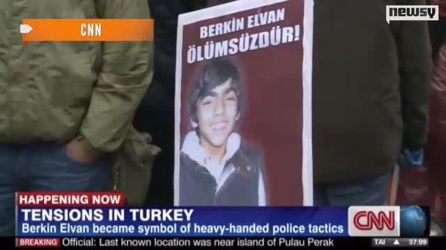 News video: Teen's Death Reignites Turkish Anti-Government Protests