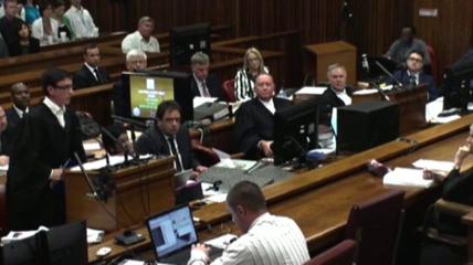 News video: Pistorius Vomits While Hearing Court Testimony