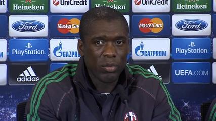 News video: Milan aren't beaten yet - Seedorf