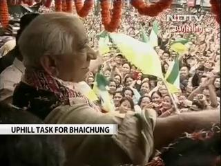 News video: GJM opposes Bhaichung Bhutia's Lok Sabha candidature from Darjeeling, decides to back BJP