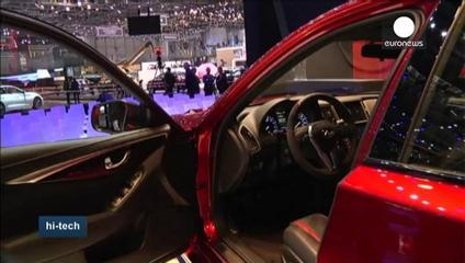 News video: Speedy smartphones take to the roads at Geneva Motor Show