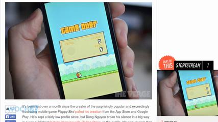 News video: 'Flappy Bird' Creator Says He's Considering Bringing His Game Back