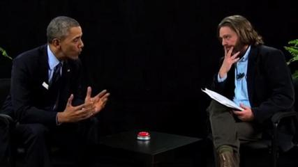 News video: Obama Visits Galifianakis Show to Push Health Care