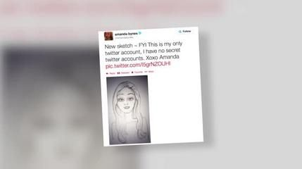 News video: Amanda Bynes Tweets Self-Portrait, Progress Report